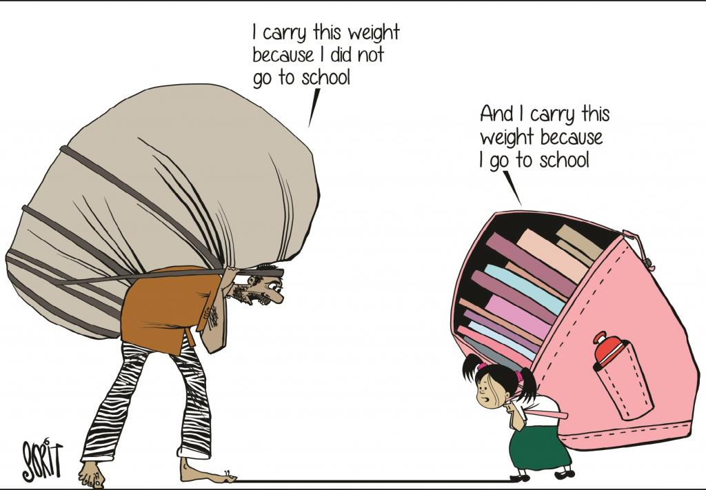 Weighing the School