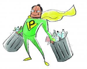 The Plastic Man of India