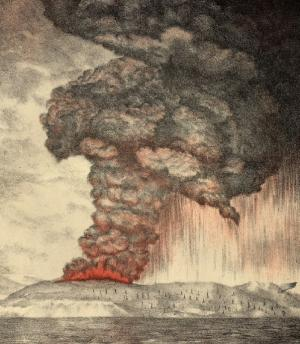 Volcano that Changed Global Climate Erupts Again
